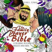The Family Prayer Bible Coloring Book