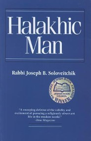 Halakhic Man  -     By: Rabbi Joseph B. Soloveitchik