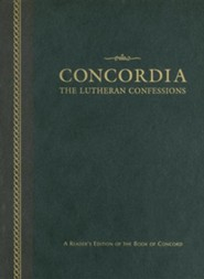 Concordia: The Lutheran Confessions: A Reader's Edition of the Book of Concord, Edition 0002Revised  -     Edited By: Paul Timothy McCain, Edward Andrew Engelbrecht, Robert Cleveland Baker     By: Paul Timothy McCain(ED.), Edward Andrew Engelbrecht(ED.) & Robert Cleveland Baker(ED.)