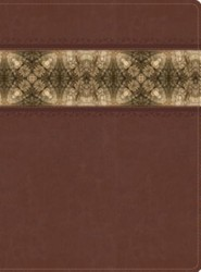 HCSB Apologetics Study Bible, Cinnamon & Brocade LeatherTouch