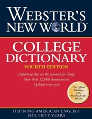 Webster's New World College Dictionary, Edition 0004