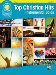 Top Christian Hits Instrumental Solos for Strings: Violin, Book & CD