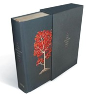 NIV Life Application Study Bible, Grey Cloth Over Board with Slipcase