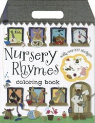 Nursery Rhymes Coloring Book  -     By: Laura McNab     Illustrated By: Kate Toms