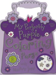 My Perfectly Purple Coloring Purse [With Sticker(s)]