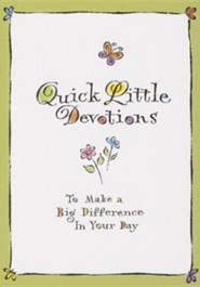 Quick Little Devotions  -