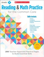 Reading and Math Practice  (Grade  3)             3): 200 Teacher-Approved Practice Pages to Build