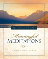 Meaningful Meditations  -     By: Thomas O. Figart