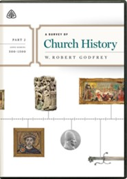 A Survey of Church History, Part 2 A.D. 500-1500 - DVD Lectures