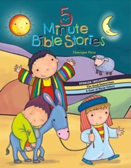 5 Minute Bible Stories  -     By: Dhanya M.(ILLUS)     Illustrated By: Dhanya M.