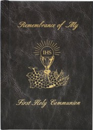 Remembrance of My First Holy Communion  -     Edited By: Victor Hoagland     By: Mary Theola     Illustrated By: George Angelini