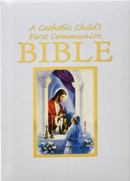 Catholic Child's Traditions First Communion Gift Bible -Girl edition