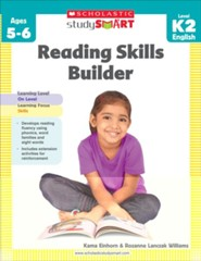Scholastic Study Smart: Reading Skills Builder  -     By: Rozanne Lanczak Williams, Kama Einhorn