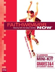 FaithWeaver NOW Mini-Kit Grades 3 & 4 Student Books, pack of 10