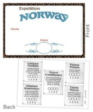 Expedition Norway VBS 2016: Name Badges, pack of 10