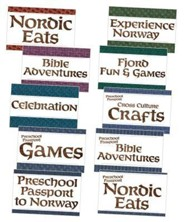 Expedition Norway VBS 2016: Station Sign Poster Pack, set of 10