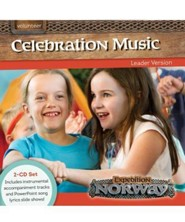 Expedition Norway VBS 2016: Celebration Music Leader Version 2-CD Set