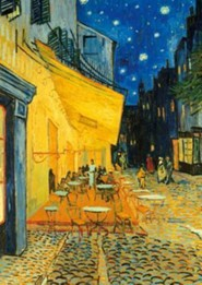 Van Gogh: Cafe Terrace at Night, 1500 Piece Puzzle   -