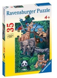 Animal Kingdom, 35 Piece Puzzle   -