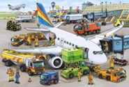 Busy Airport, 35 Piece Puzzle   -