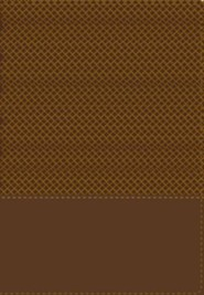 Biblia de Estudio RVR 1960 Serie 50, Piel Imit. Duotono Marron  (RVR 1960 50 Series Study Bible, Imit. Leather Duotone Brown)  -