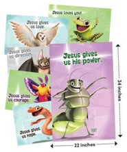 Cave Quest VBS 2016: Bible Point Posters, set of 6