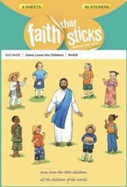 Stickers: Jesus Loves Children