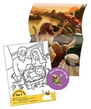 Cave Quest VBS 2016: Tad's Bible Packs, set of 50 (enough for 10 kids)