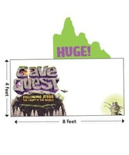 Cave Quest VBS 2016: Logo Outdoor Banner
