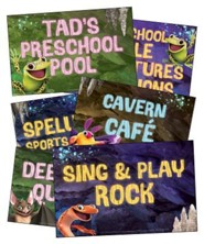 Cave Quest VBS 2016: Station Sign Posters, set of 12