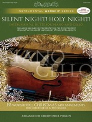 Silent Night! Holy Night!: Instrumental Duets for Piano and Cello Book/CD Pack