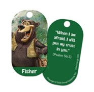 Fisher Buddy Tag , pack of 5