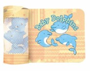 Baby Dolphins Bath Book [With 3 Rubber Dolphins]
