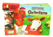 On the Farm Board Book [With 10 Toys]