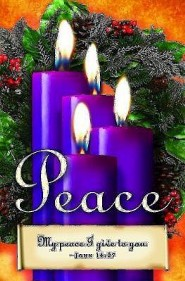 Advent Sunday 4 Purple Bulletins (Package of 50)  -