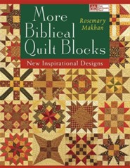 More Biblical Quilt Blocks Print on Demand Edition