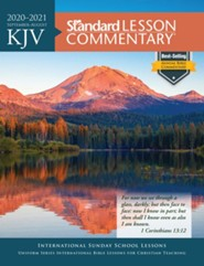 2020-2021 KJV Standard Lesson Commentary, Softcover