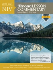 2020-2021 NIV Standard Lesson Commentary, Large Print