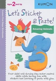 Let's Sticker & Paste! Amazing Animals  -