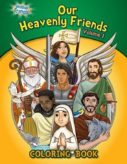 Coloring Book: Our Heavenly Friends V1