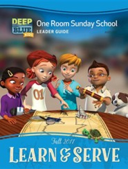 Deep Blue: One Room Sunday School Leader's Guide, Fall 2017