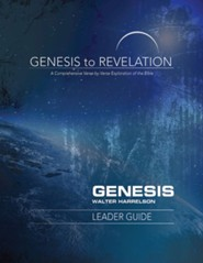 Genesis to Revelation: A Comprehensive Verse-by-Verse Exploration of the Bible - Genesis, Leader Guide