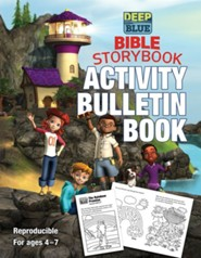 Deep Blue Bible Storybook Activity Bulletins