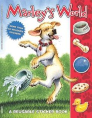 Marley's World: A Reusable Sticker Book
