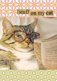 Stuff on My Cat Journal [With Stickers]  -     By: Mario Garza