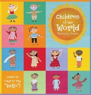 Children of the World Memory Game  -     By: Sophie Fatus     Illustrated By: Sophie Fatus