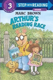 Arthur's Reading Race [With Two Full Pages of]  -     By: Marc Tolon Brown, Louis Begley