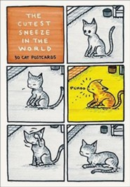 The Cutest Sneeze in the World: 30 Cat Postcards  -     By: Jeffrey Brown