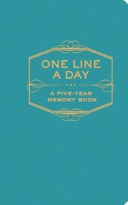 One Line a Day: A Five-Year Memory Book  -     By: Chronicle Books