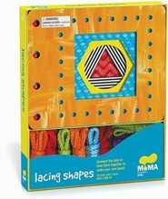MoMA Modern Lacing Shapes [With 10 Cards and 11 Laces]